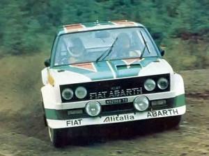 Fiat 131 Abarth - Timo Salonen & Jaakko Markkula