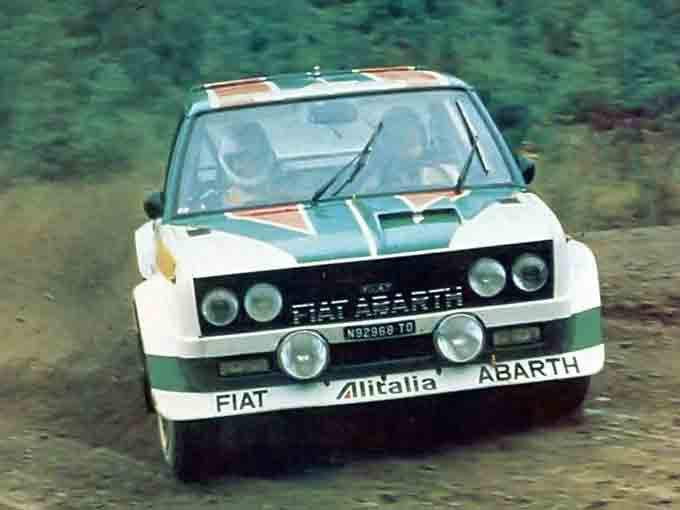My G 4 Project Fiat 131 Abarth Rally Corsa G 4